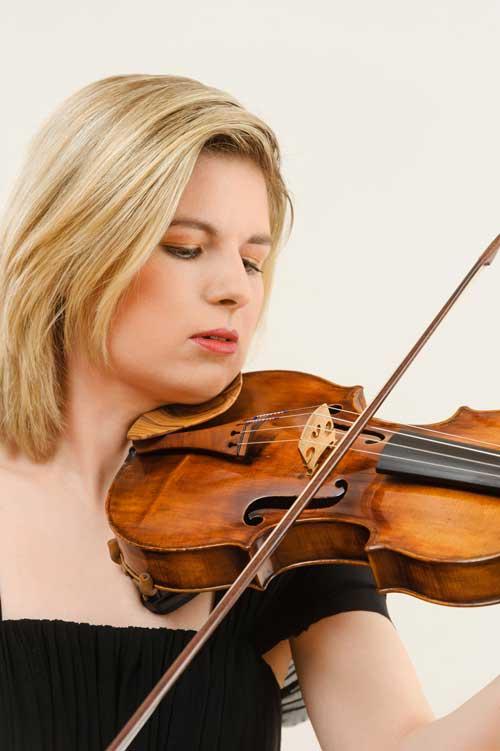 Cornelia Löscher - Konzertmeisterin